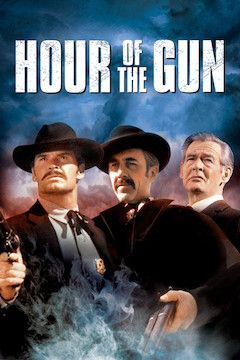 Hour of the Gun movie poster.