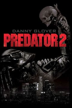 Predator 2 movie poster.