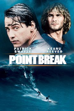 Poster for the movie Point Break