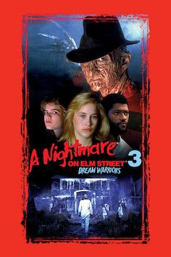 A Nightmare on Elm Street 3: Dream Warriors movie poster.