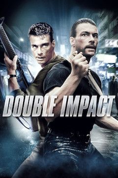 Double Impact movie poster.