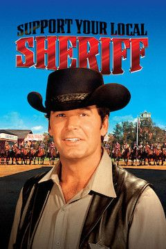 Support Your Local Sheriff movie poster.