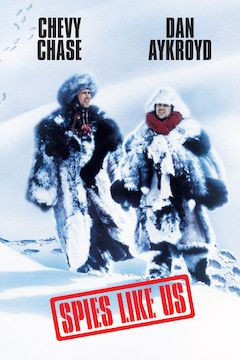 Spies Like Us movie poster.