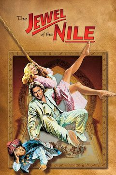 The Jewel of the Nile movie poster.