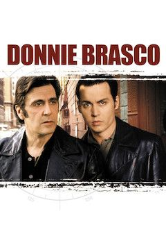 Donnie Brasco movie poster.