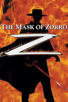 The Mask of Zorro movie poster.