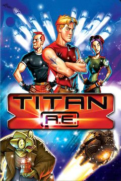 Titan A.E. movie poster.