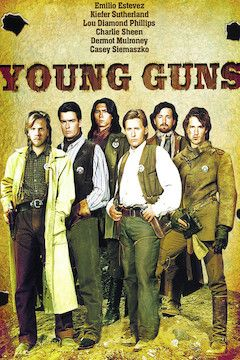 Young Guns movie poster.