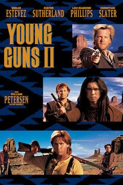 Young Guns II movie poster.