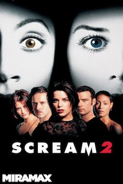 Scream 2 movie poster.