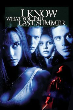 I Know What You Did Last Summer movie poster.