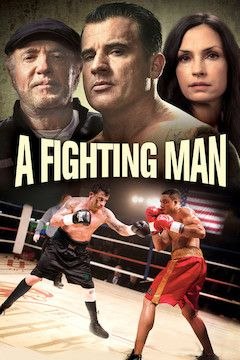 A Fighting Man movie poster.