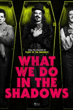 Poster for the movie What We Do in the Shadows