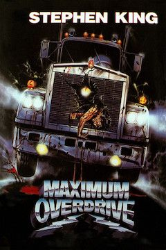 Maximum Overdrive movie poster.