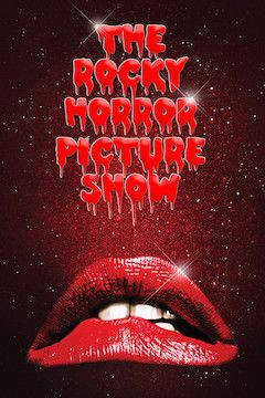 The Rocky Horror Picture Show movie poster.