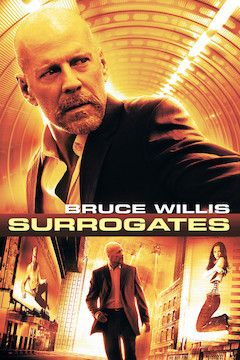 Surrogates movie poster.