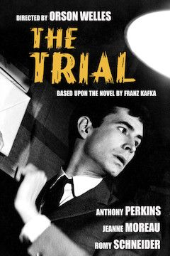 Poster for the movie The Trial