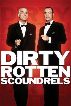 Dirty Rotten Scoundrels movie poster.