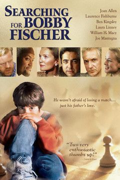 Searching for Bobby Fischer movie poster.