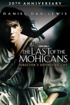 The Last of the Mohicans movie poster.