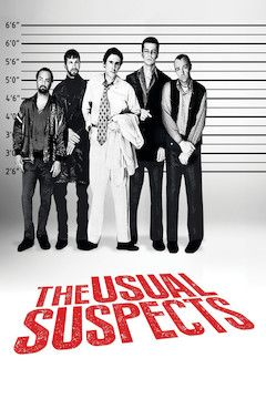 The Usual Suspects movie poster.