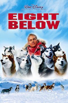 Eight Below movie poster.