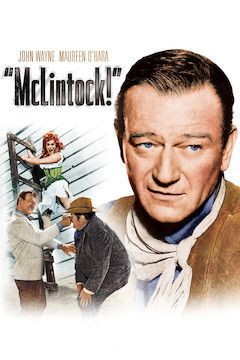 Poster for the movie McLintock!