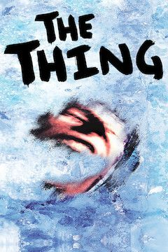 The Thing movie poster.