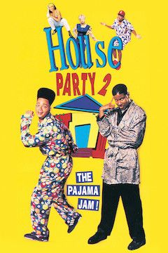 House Party 2 movie poster.