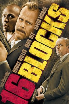 16 Blocks movie poster.
