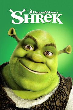 Shrek movie poster.
