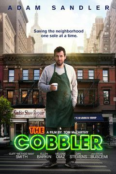 The Cobbler movie poster.