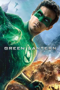 Green Lantern movie poster.