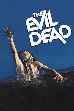 The Evil Dead movie poster.