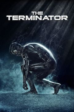 The Terminator movie poster.