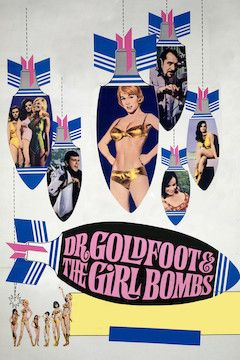 Dr. Goldfoot and the Girl Bombs movie poster.
