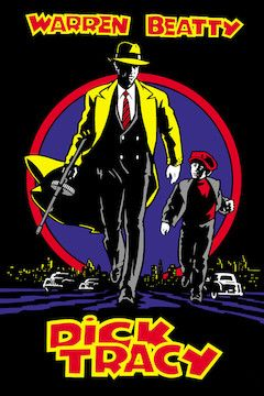 Dick Tracy movie poster.