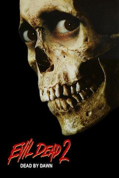Evil Dead 2: Dead by Dawn movie poster.