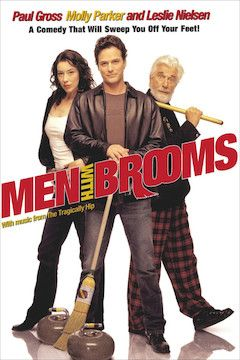 Men With Brooms movie poster.