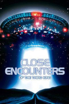 Close Encounters of the Third Kind movie poster.