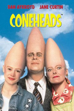 Poster for the movie Coneheads