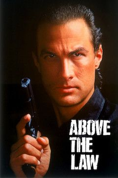 Above the Law movie poster.