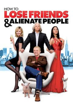 How to Lose Friends and Alienate People movie poster.