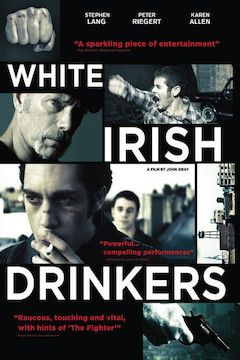 White Irish Drinkers movie poster.