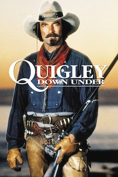 Quigley Down Under movie poster.
