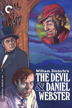 Poster for the movie The Devil and Daniel Webster