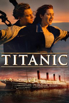Titanic movie poster.
