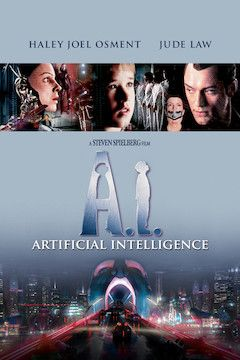 A.I.: Artificial Intelligence movie poster.