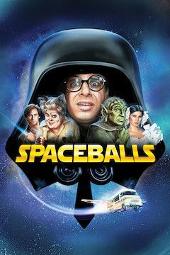Spaceballs movie poster.