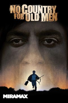 No Country for Old Men movie poster.